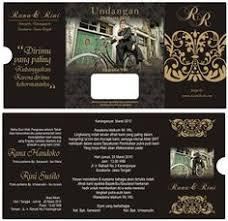 template undangan format cdr desain undangan pernikahan terbaik template photoshop contoh