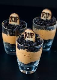 pumpkin dirt pudding graveyard parfaits neighborfood