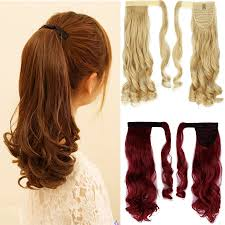 Pony Wrap Hair Extension by Online Get Cheap Wrap Ponytail Hairpiece Aliexpress Com Alibaba