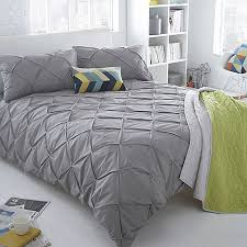 Duvet Covers Debenhams Ben De Lisi Home Grey Ruched U0027brooklyn U0027 Bedding Set Debenhams