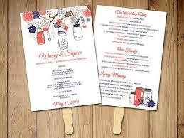 Diy Wedding Ceremony Program Fans The 25 Best Diy Wedding Program Fans Ideas On Pinterest Fan