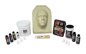 latex halloween mask kits monster makers rd 407 mask latex halloween white 1 gallon 25