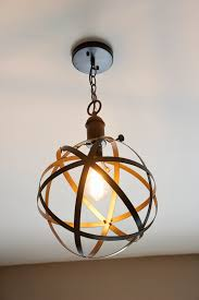 Industrial Pendant Light Diy Industrial Rustic Pendant Light Bless Er House