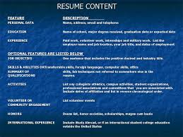 Powerpoint Resume Template Resume Cover Letter Powerpoint Presentation Resume Ixiplay Free