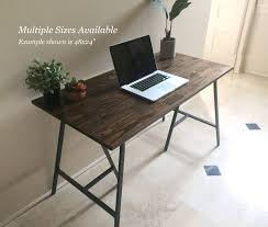 Long Computer Desk by Long Desk Narrow Desk Long Narrow Desk Wooden Desk