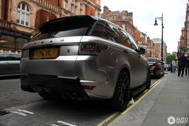 brown range rover land rover urban range rover sport rrs 4 july 2016 autogespot