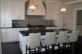 images of kitchen ideas amazing transitional white kitchens with white chairs and black bar