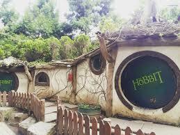 rumah hobbit farmhouse lembang bandung jawabarat
