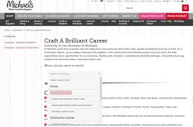 how to apply for michaels jobs online at michaels com careers