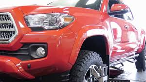 readylift level off kit in a 2016 toyota tacoma at dales auto