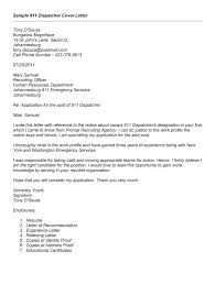 911 Dispatcher Resume Luxury Cover Letter Sign Offs 81 In Amazing Cover Letter With