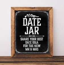 wedding chalkboard ideas wedding chalkboard sign printable wedding date jar sign wedding