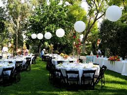 small outdoor wedding ideas on a budget