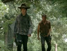 Carl Grimes Halloween Costume Walking Dead Mid Season Premiere Sees Rick Verge