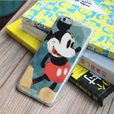 buy wholesale cute mickey mouse covers plastic matte cases