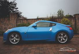 nissan 370z custom blue nissan 370z 2009 performance cars ni passionate about performance