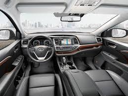 inside toyota highlander toyota 2019 toyota highlander interior dashboard from inside