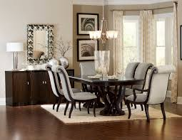 savion double pedestal dining table