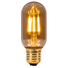 yellow led light bulbs bell 01439 4 watt es e27mm vintage tubular amber led light bulb
