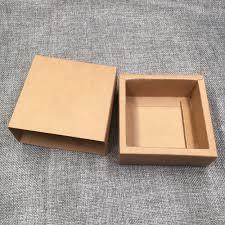 50pcs kraft gift packing boxes blank paper drawer box diy storage