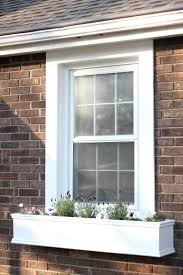how to build a window flower box how to make window boxes