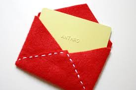 How To Make A Card Envelope - make this for the holidays festive felt gift card envelope diy