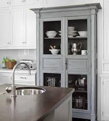Kitchen Modern Hutch Cabinets Uotsh - Kitchen hutch cabinets