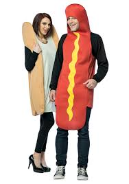 dog and bun costume
