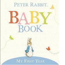 baby 1st year book my year rabbit baby book walmart