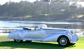 1938 horch 853a erdmann u0026 rossi sport cabriolet art deco autos