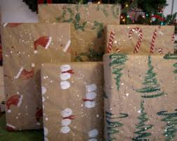 rustic christmas wrapping paper wrapping paper etsy