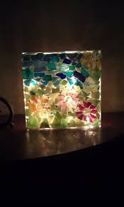 69 best glass blocks lights images on pinterest glass block