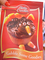 thanksgiving recipe idea betty crocker turkey cupcakes