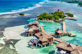 overwater bungalows in the carribbean mexico and the us