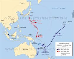 Us Navy Future Map Of United States by The Battle Of The Coral Sea