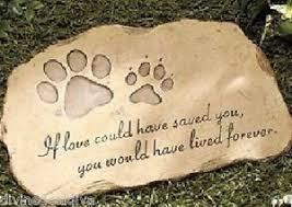 headstones for dogs pet memorial garden paw dog cat memorial marker grave pet