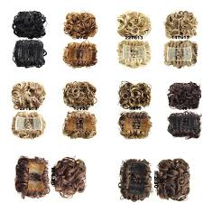 bun clip begonia k curly comb hair extension hairpiece clip in big hair