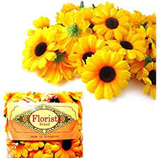 flower wholesale flowers heads aftermarket 100x artificial gerbera