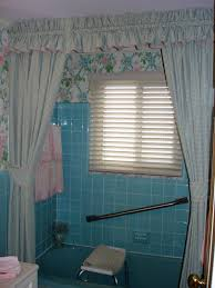 Bathroom Window Curtains by Bathroom Bathroom Window Curtains In Dark Brown Color Combined