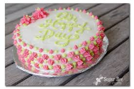 Simple Cake Decorating The Secret To Cake Lettering Spacing Sugar Bee Crafts