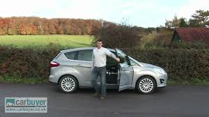 ford focus c max boot space ford c max mpv review carbuyer