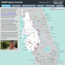 Florida Springs Map Facilitating Agricultural Resource Management Systems Farms Program