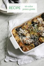 recipes for side dishes for thanksgiving jojotastic recipe tri color potato gratin a yummy side dish