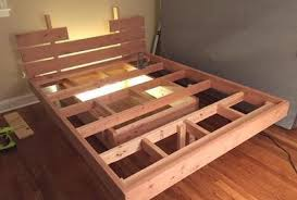 How To Build A Cal King Platform Bed Frame by This Guy Made A Diy Floating Bed In 19 Simple Steps U2026 Wait Till You
