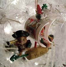 swashbuckling pirate tree ornaments