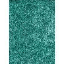 Blue Shaggy Rug Turquoise Shag Rug Little Crown Interiors