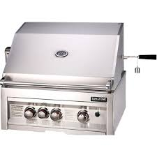 Backyard Grill 3 Burner Sunstone 28 Inch 3 Burner Built In Natural Gas Grill With