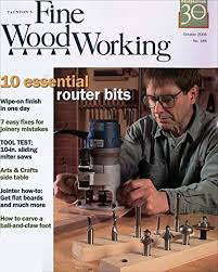 Fine Woodworking Magazine Router Reviews by Fine Woodworking Amazon Com Magazines
