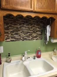 Using Vinyl Smart Tiles To Update My Kitchen Hometalk - Smart tiles kitchen backsplash