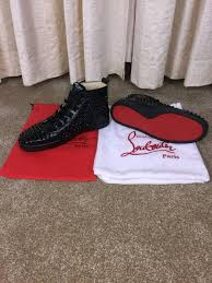 christian louboutin spiked boots trainers in london gumtree